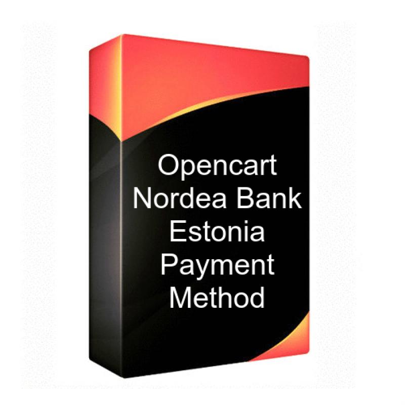 Opencart - Nordea Bank Estonia Payment Method OC