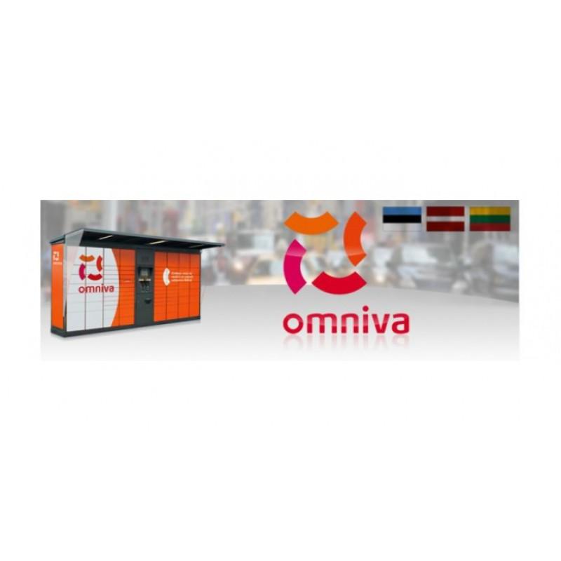 Opencart - Omniva Estonia/Latvia/Lithuania Pickup on Google Map OC2.3 OC3.0